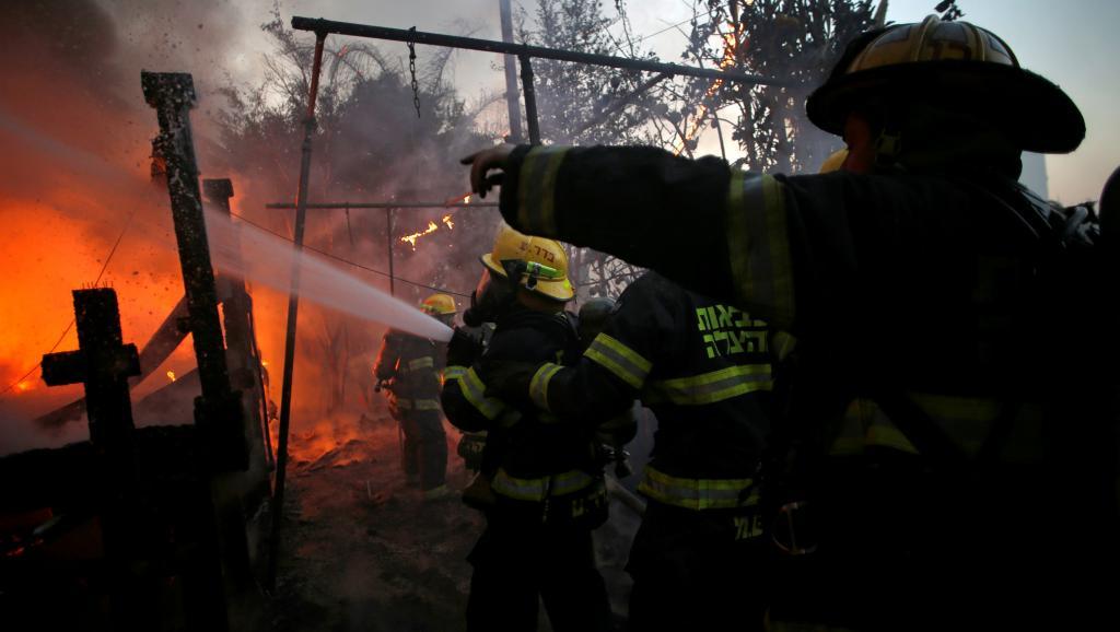 israel-incendies